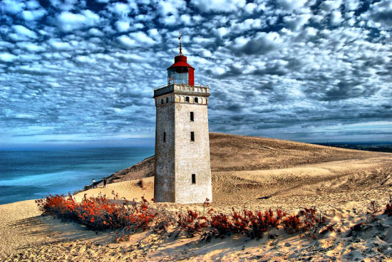 Lighthouse Rubjerg Knude Fyr