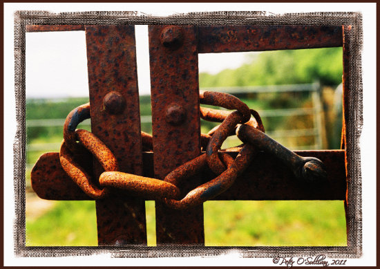 gatefriday Gate Rust Lock Old Keel Kerry Ireland Peter OSullivan