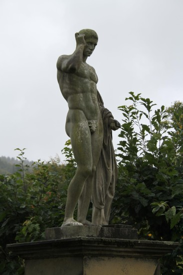england chatsworth objects statues