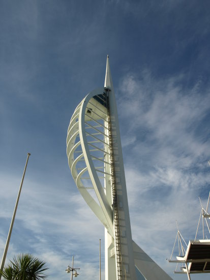 portsmouth spinnaker tower clouds sky summer kmphotography