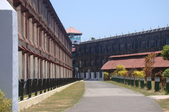 Cellular Jail where Indian Freedom fighters were imprisoned