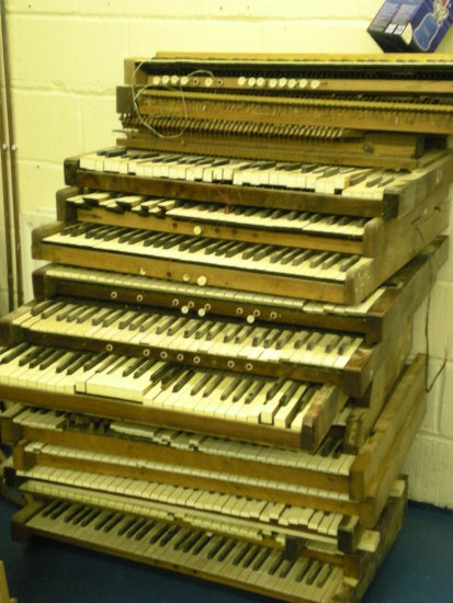 church organ manual keyboard instrument music