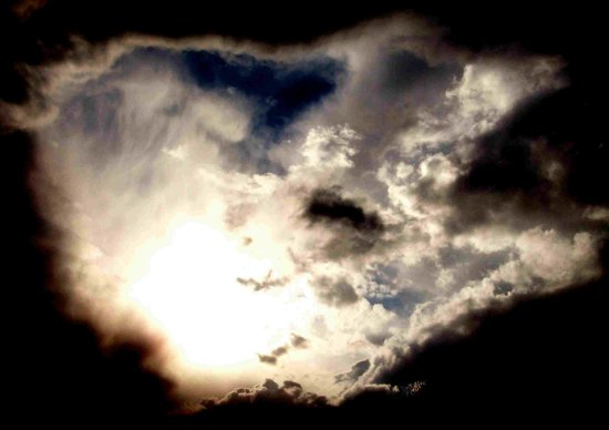 hole in the clouds better enlarged