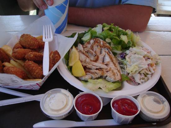 Malibu Seafood: best fried oysters and grilled yellowtail- right on the PCH. MMMMM