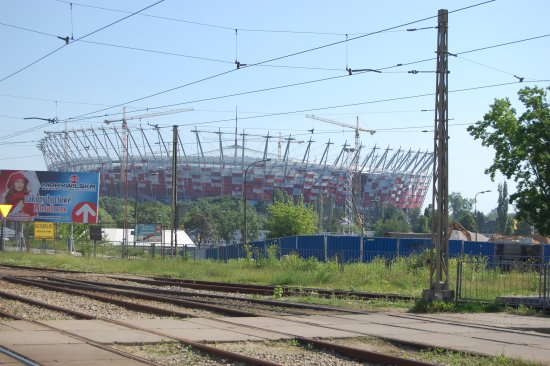 stadium football poland warsaw euro 2012