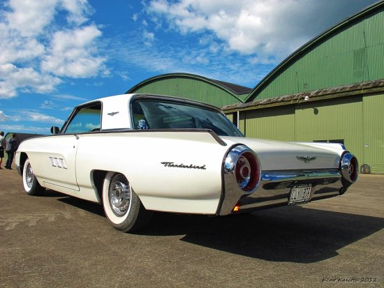 Ford Thunderbird 1963 Front White Pearl 2012 August Ljungbyhed