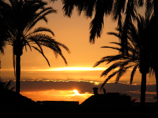 Spain Torremolinos sunrise nature