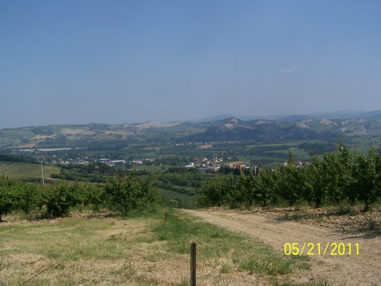 Romagna Country landscape