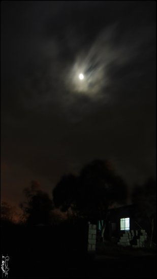 dark cloud night shot Iran Moon Night Moonlight Northern of Iran Persia