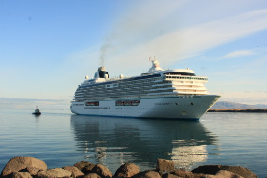 cruise liner iceland may 2012 photo