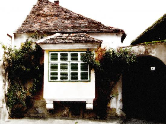 old house in burgenland.
