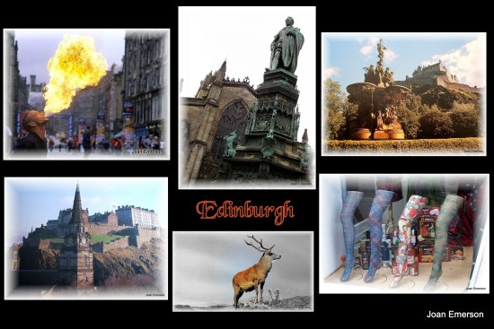 Places we have visited Edinburgh