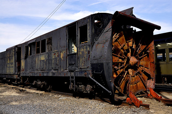 steamtown scranton pennsylvania railroad train locomotive turbine windmill