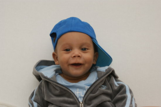 Kamren will the 4 months old Oct 18th
