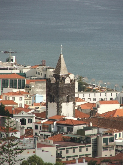 2006 Funchal Madeira Portugal cathedral tower 2009 landmarkfriday theme