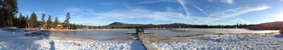 big bear lake panoramic iphone mjghajar