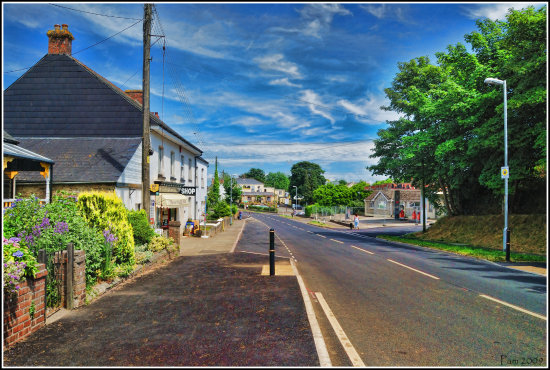 village cornwall