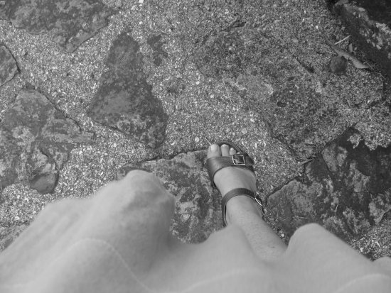 stone foot bW monochromefriday