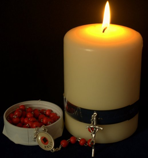 Candle Rosary Beads