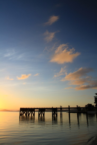 sunrise pier magazine bay