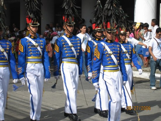 Cagayan de Oro City fiesta civic military parade