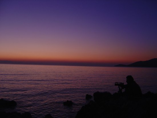 Sunset..January 2007, Skopelos Isl.