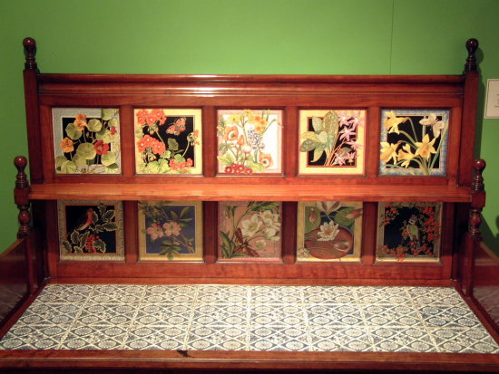 7/9 Tiles at the Jackfield Tile Museum, Ironbridge