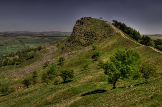 Peack District Derbyshire Back Tor Castleton Edale