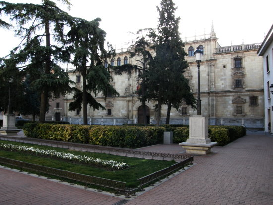 Spain Alcala Henares Universidad Invierno Winter