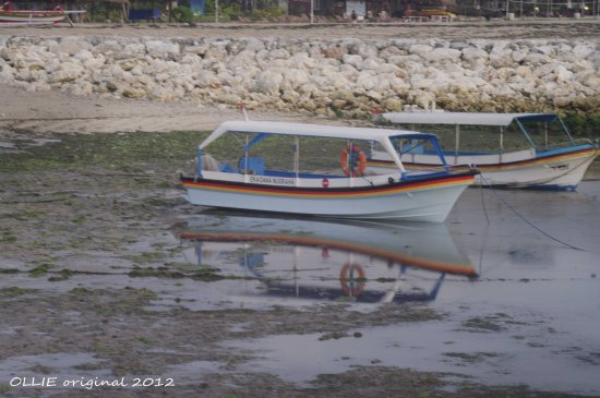 reflectionthursday boat beach benoa bali littleollie