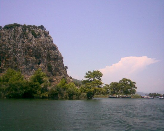 beach dalyan turkey
