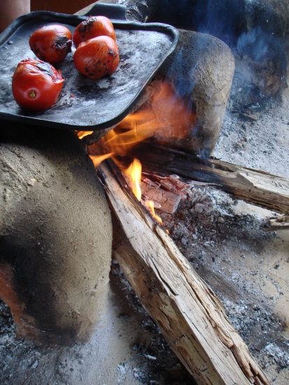 Tomatoes rustic kitchen simple life
