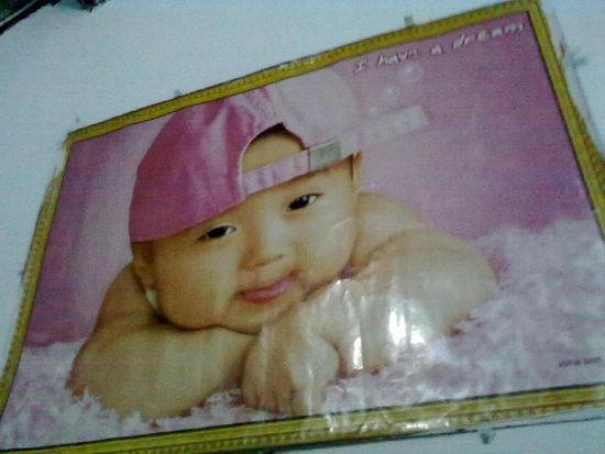 kka baby on my home walls