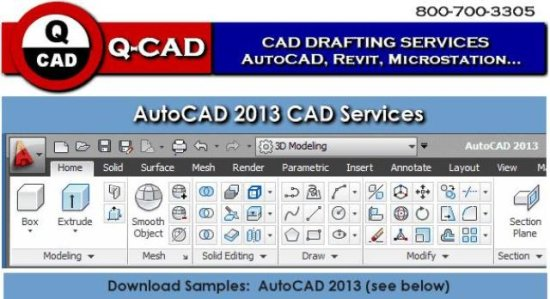 qcad autocad drafting services cad drawing conve