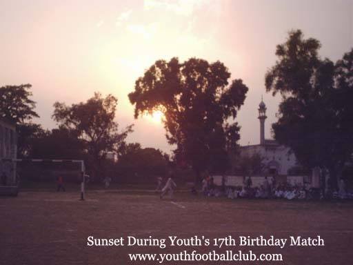 Sunset Trees Ground Football Soccer Youth Club Mirpur Mehran Islamabad