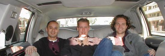 A ride in a limo in San Francisco. (2001)