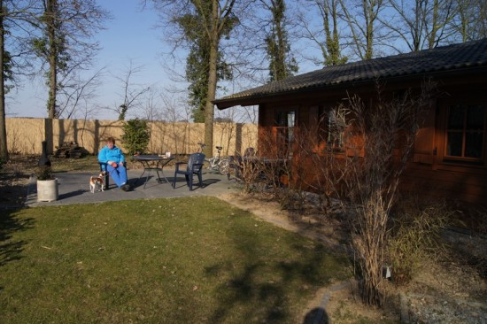 We have been for a short brake to Susteren Limburg ... we rented this nice chalet there ... despi...