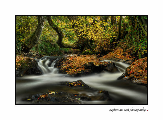 stephen mc cool strabane photography stream waterfall ireland