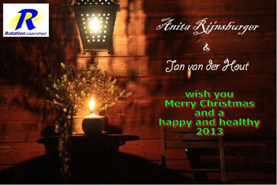 Merry Christmas and a happy and healthy 2012