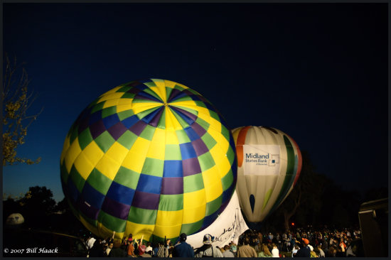 stlouis missouri us usa event balloon glow hotair 2007