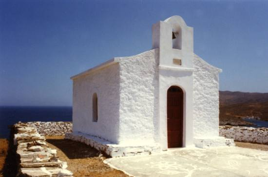 whitechapel white chapel SaintElias kythnos loutra greece greekislands
