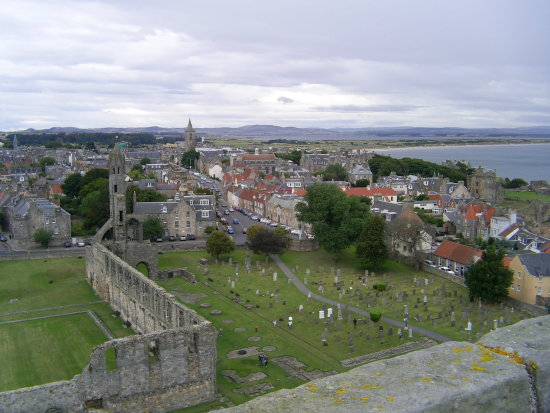 St Andrews View Cathedral Top