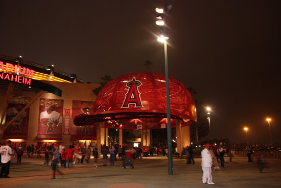 anaheim angels baseball game on my birthday