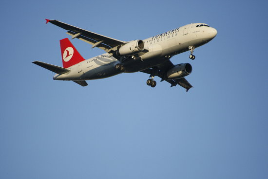 A320 from Trkish Airline TXL