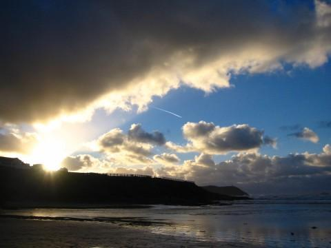 We were staying in Cornwall this Christmas and this was taken on the beach at Polzeath whilst out...
