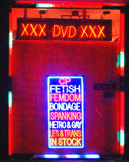soho london sex sleaze red light