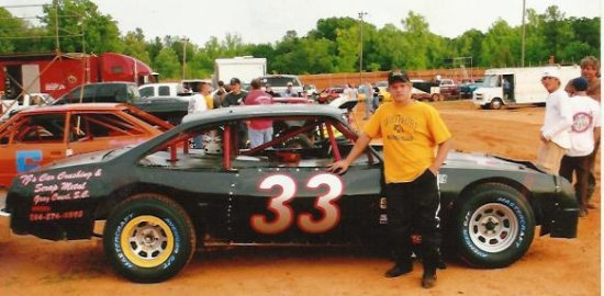 Allen Dilleshaw dirt track car 33 from Whitmire SC