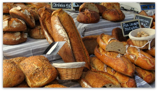 Market day in France