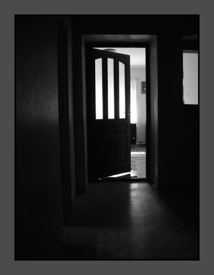 flat room resident door windows wall shadow light artistic old school bw