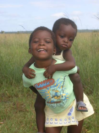 Children in Mozambiek